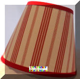 Marble Lamp Shades Stripe Stripped Stripes Pizzaz Fabric